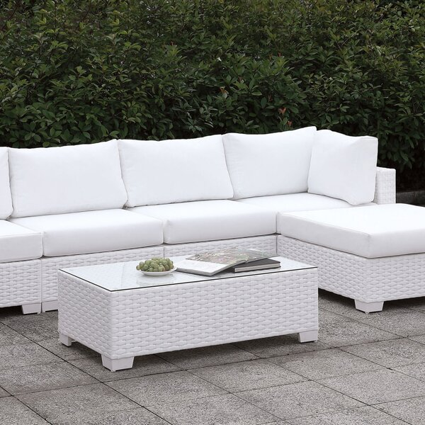 Abberville 2 Piece Sectional Seating Group with Cushions