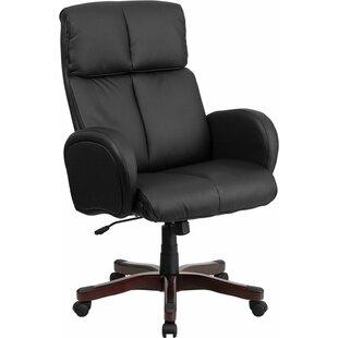 Check Prices Mccrea High-Back Ergonomic Executive Chair by Latitude Run