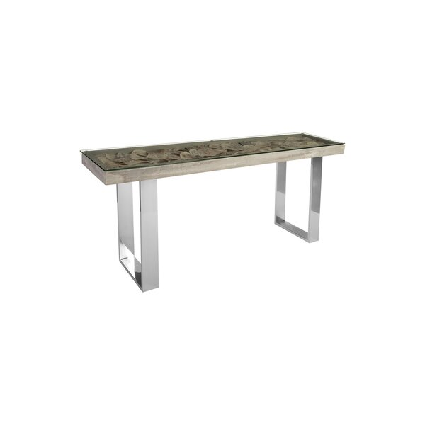 Home & Outdoor Shell Console Table