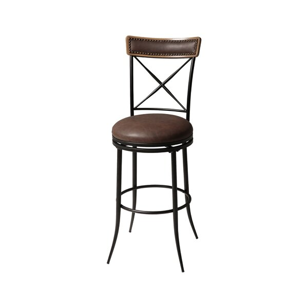 Quantock 30 Swivel Bar Stool by Red Barrel Studio