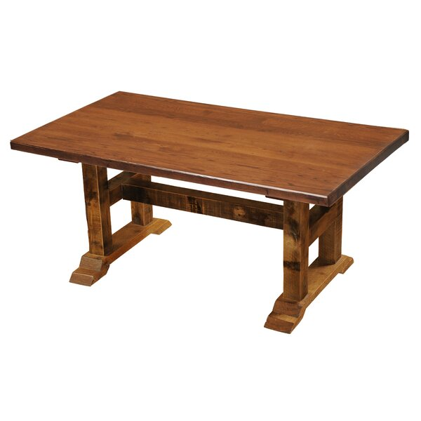 Harlingen Timbers Dining Table by Millwood Pines