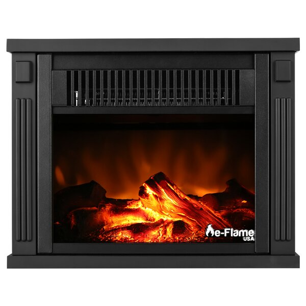 Portable Electric Fireplace Insert by e-Flame USA
