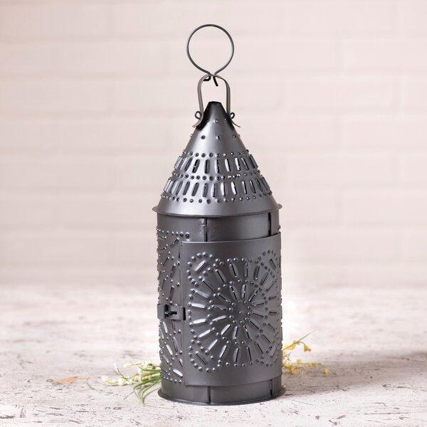 Aurelio Metal Lantern by August Grove