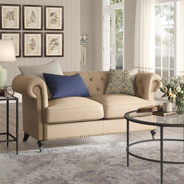 Cool Trendy Calila Chesterfield Loveseat by Birch Lane Heritage by Birch Lane�� Heritage