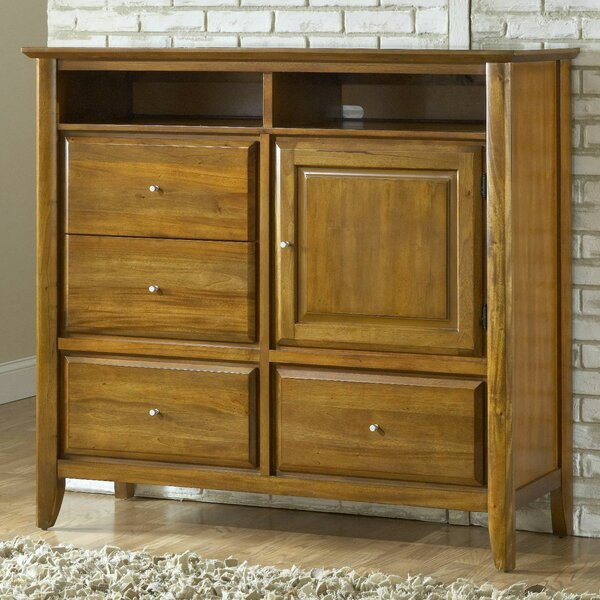 Pittsburg 4 Drawer Combo Dresser by Loon Peak