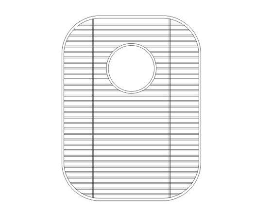 17.38 x 1 Sink Grid by Wells Sinkware