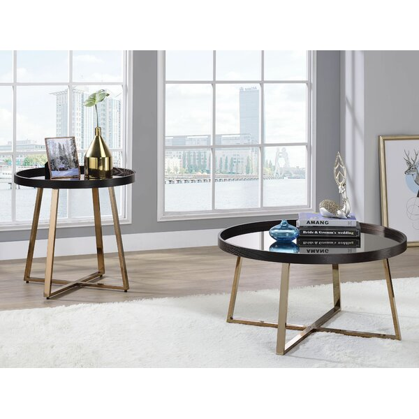Strecker 2 Piece Coffee Table Set by Everly Quinn Everly Quinn