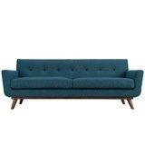 Johnston 90.5 Square Arm Sofa by Langley Street™