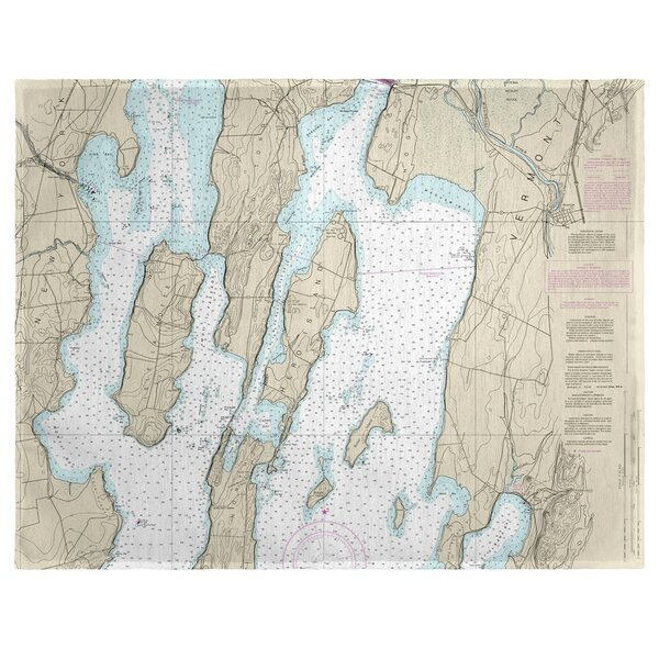 North Hero Island, VT 18 Placemat (Set of 4) by East Urban Home