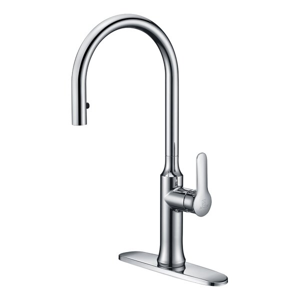 Cresent Series Pull Down Bar Faucet by ANZZI