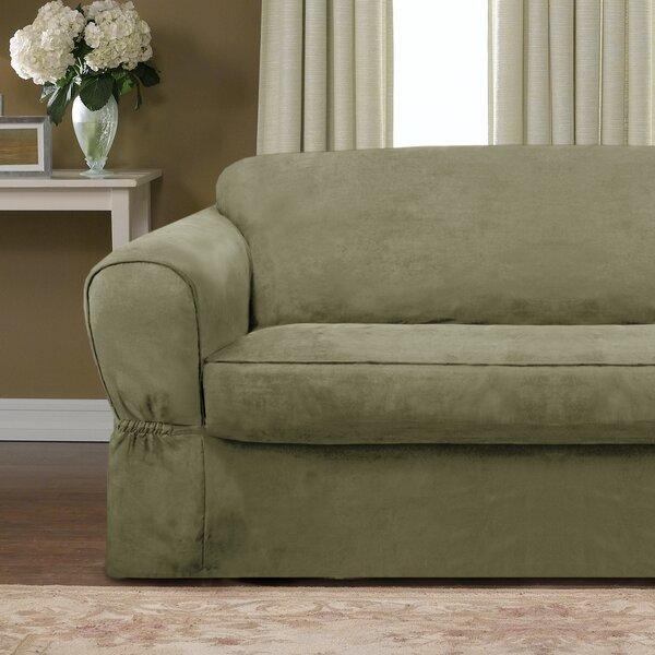 Bearup Barras Box Cushion Loveseat Slipcover by Da