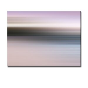 'Blur Stripes XLII' Graphic Art on Canvas by Ready2hangart