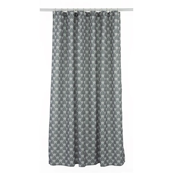 Manhattan Trellis Shower Curtain Set by LJ Home
