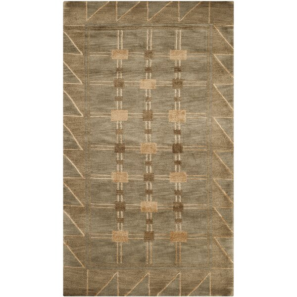 Balance Wool Brown Area Rug by dCOR design