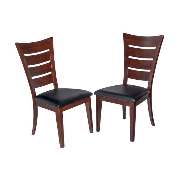 Eagle Lake Solid Wood Dining Chair (Set of 2) by Loon Peak