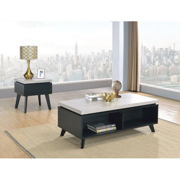Hillard Coffee Table with Tray Top and Storage by Wrought Studio Wrought Studio