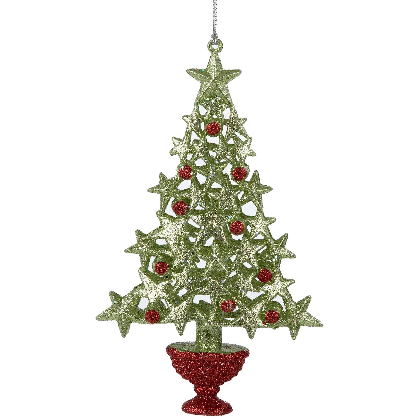 Led arbre de noël pré-éclairé lumières artificielle vert noël baubles avec support 6f