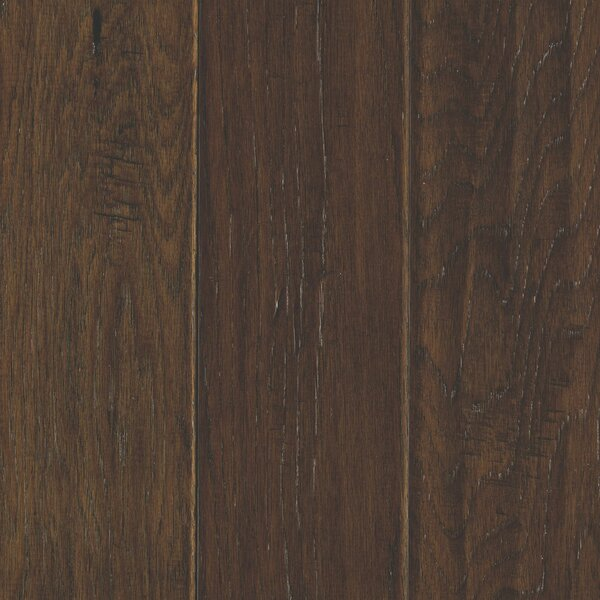 Windworn 5 Engineered Hickory Hardwood Flooring in Coffee by Mohawk Flooring