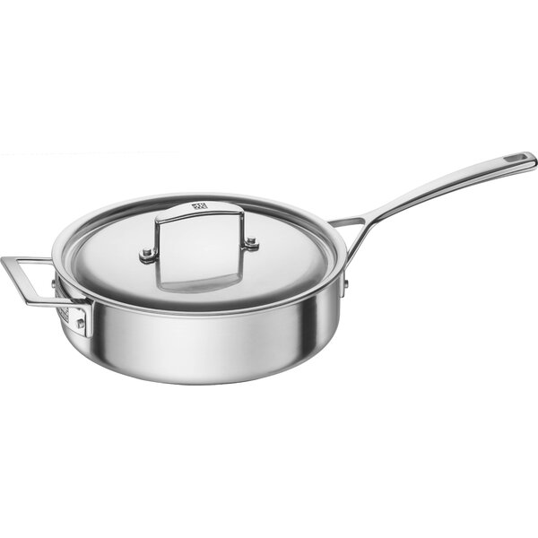 Aurora 5-Ply Stainless Steel 3-Qt. Saute Pan by Zwilling JA Henckels