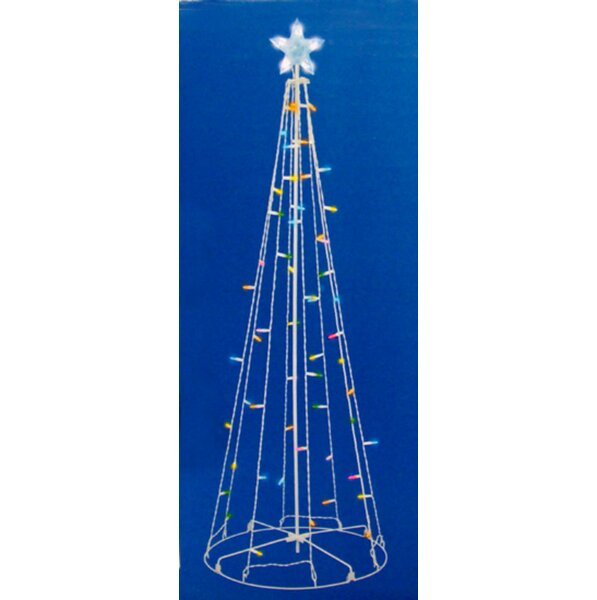 Cool LED Show Cone Christmas Tree Lighting Display by The Holiday Aisle