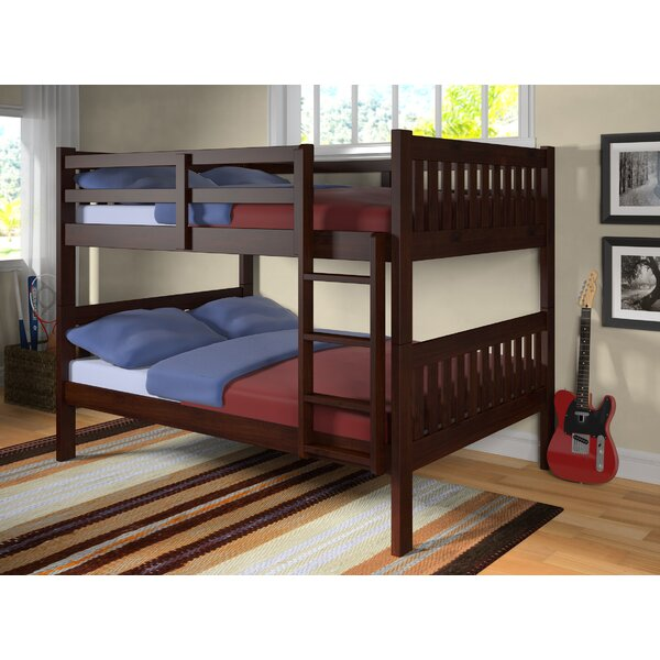 Hargrave Full over Full Bunk Bed by Harriet Bee