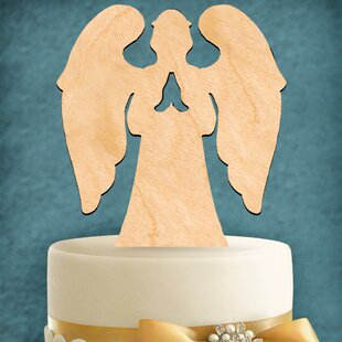 Angel Cake Topper By aMonogram Art Unlimited