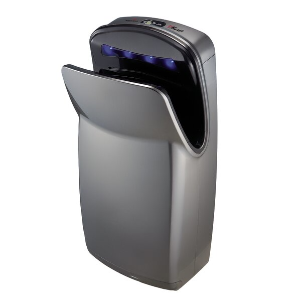 Vmax, Hi-speed Vertical Hand Dryer in Silver by World Dryer