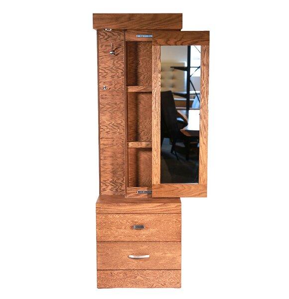 Munich Vanity with Mirror by REZ Furniture