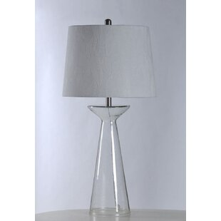 Crockett Seeded Glass 34 Table Lamp By Wrought Studio Lamps