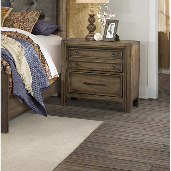 Odette 2 Drawer Nightstand by One Allium Way