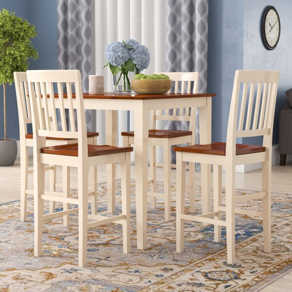 Quinlan Solid Wood Dining Set By Andover Mills