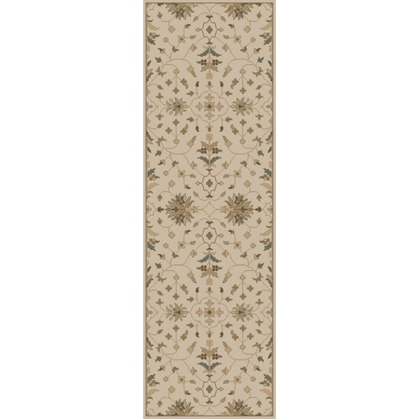 Topaz Beige Area Rug by World Menagerie
