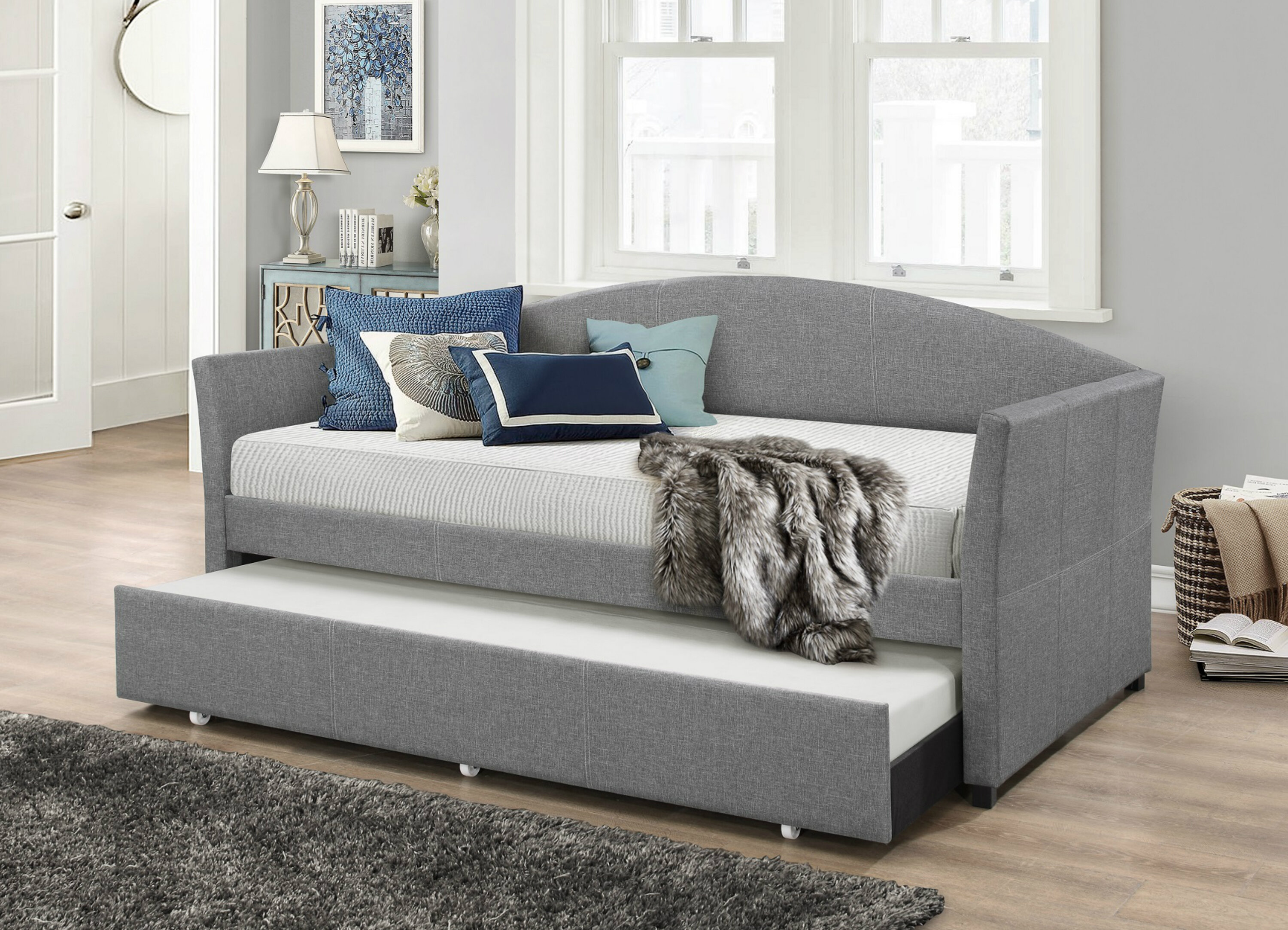 - Brayden Studio Eleni Twin Daybed With Trundle & Reviews Wayfair