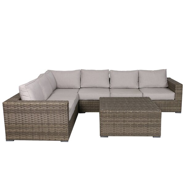 Kaiser 5 Piece Sectional Set with Cushions by Brayden Studio