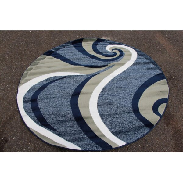 Blue Area Rug by Persian-rugs