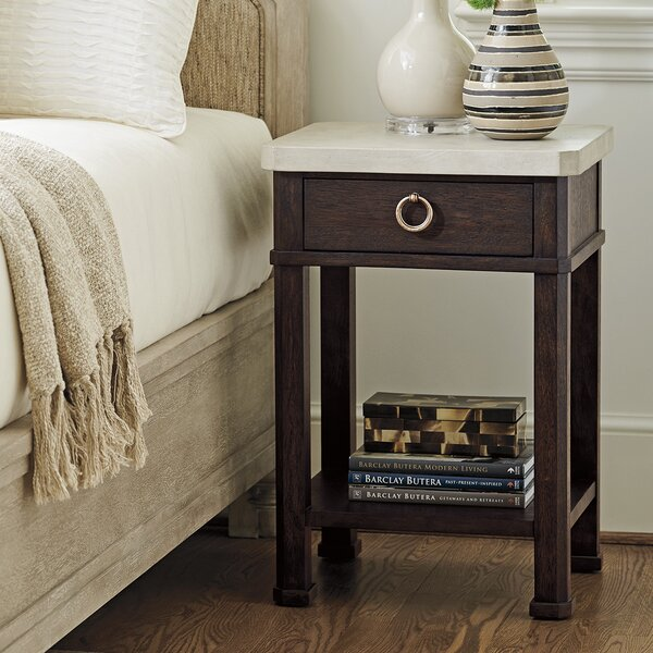 Malibu Escondido 1 Drawer Nightstand by Barclay Butera