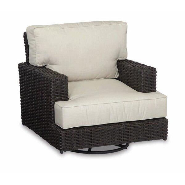 Cardiff Swivel Club Patio Chair with Sunbrella Cushion by Sunset West