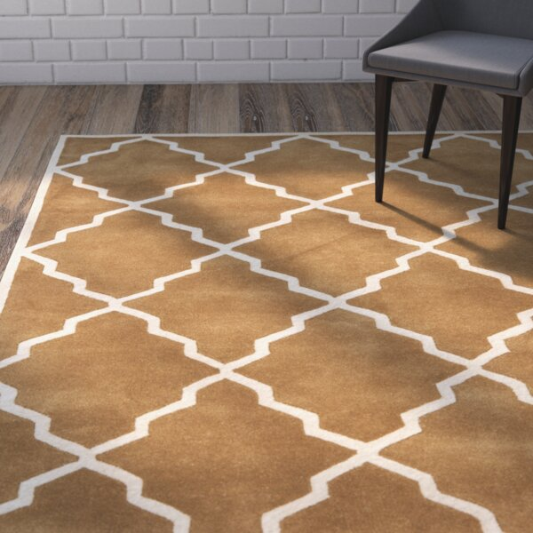 Wilkin Brown Rug by Wrought Studio