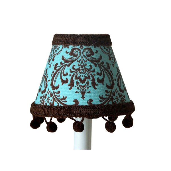Damask 11 Fabric Empire Lamp Shade by Silly Bear Lighting