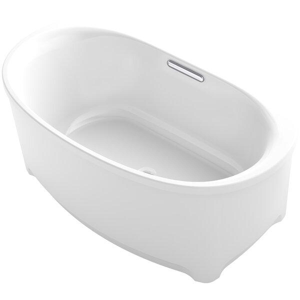Kohler Underscore Oval Freestanding Bath U0026 Reviews   Wayfair
