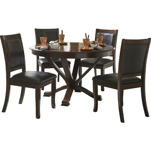 William 5 Piece Dining Set by Latitude Run