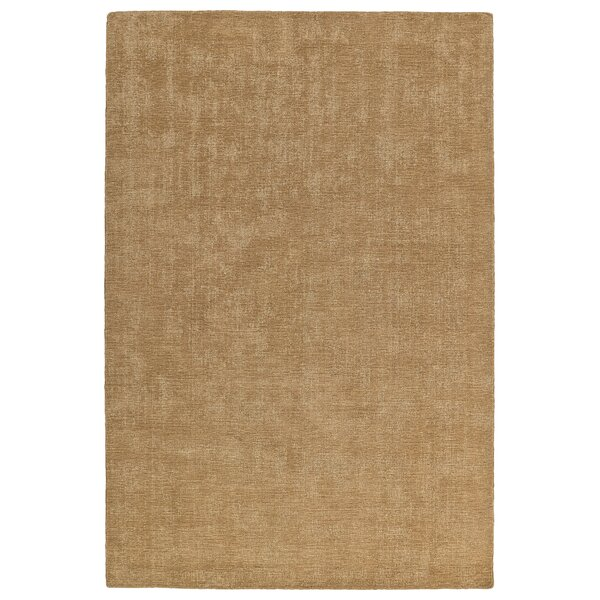 Borica Hand-Loomed Sand Indoor/Outdoor Area Rug by Ebern Designs