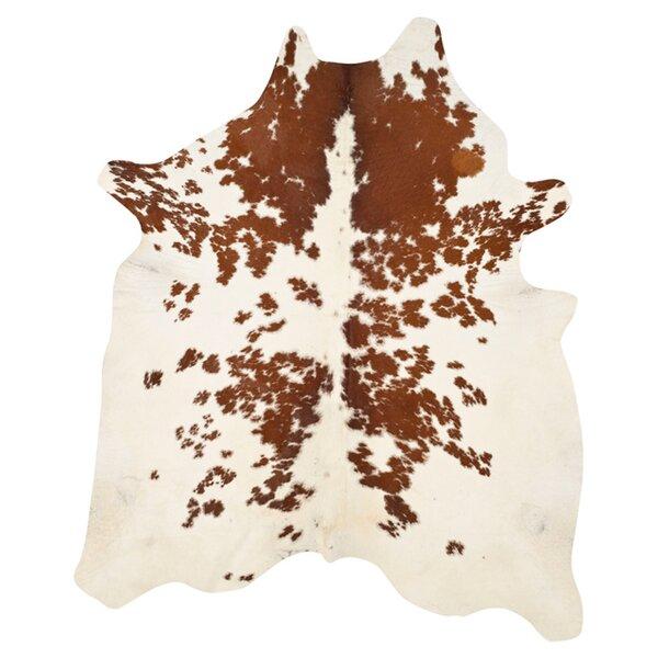 Cow Hide Caramel Area Rug by Safavieh
