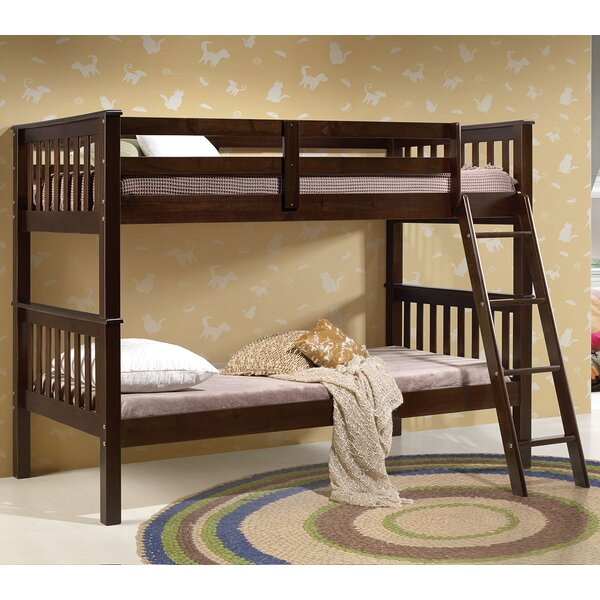 Wilton Twin over Twin Bunk Bed by Harriet Bee