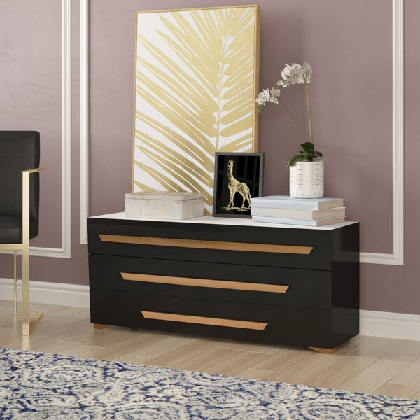 Ertha 3 Drawer Dresser by Willa Arlo Interiors