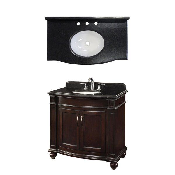 Newport 36 Single Bathroom Vanity Set by Davidson Woodcrafters