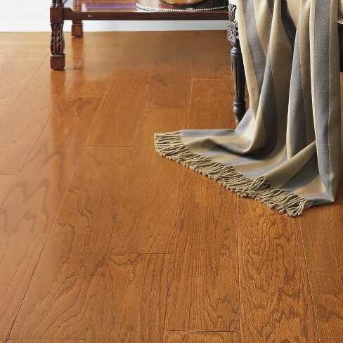 Turlington 3 Engineered Oak Hardwood Flooring in Low Glossy Butterscotch by Bruce Flooring