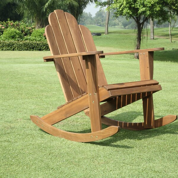 Knowlson Rocking Chair by Beachcrest Home