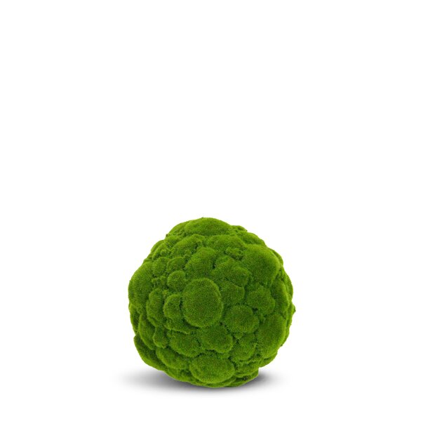 Artificial Moss Ball Round Topiary by Charlton Home