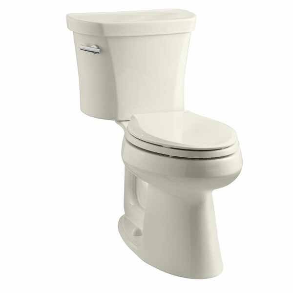 Highline 1.28 GPF Elongated Two-Piece Toilet by Kohler